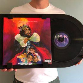 Nieuw! 12 inch LP lijst – Zwart