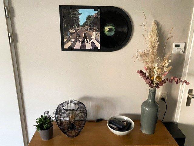 vinyl ophangen